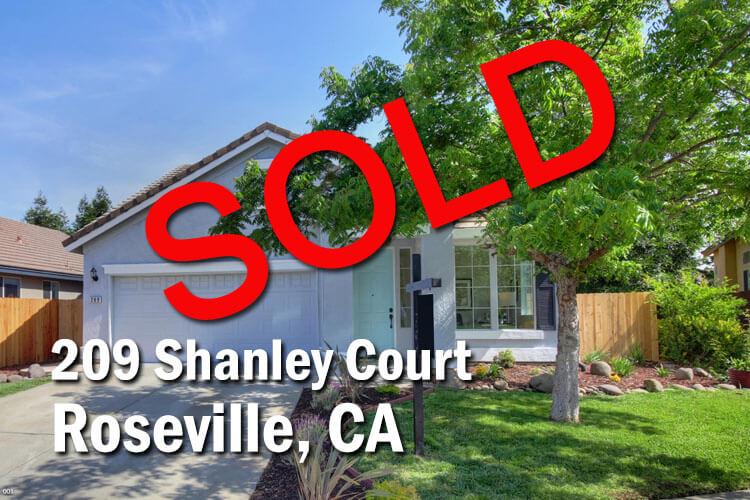 209 Shanley Court Roseville CA 95747