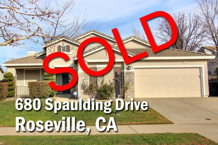 680 Spaulding Drive Roseville CA 95678